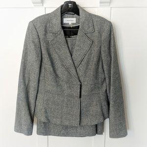 NWOT Calvin Klein Linen Skirt Suit JACKET ONLY